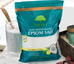 shea butter moisturizing epsom salt